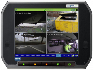 FleetLink Vision with 4 cameras provides complete fleet safety